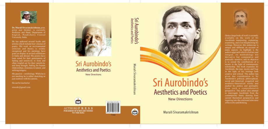 Sri Aurobindo Aesthetics and Poetics cover page