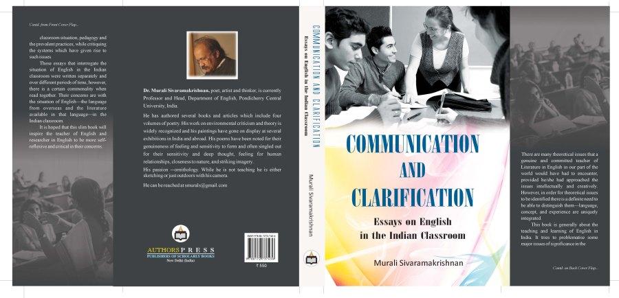 TWO NEW BOOKS FORM MURALI SIVARAMAKRISHNAN